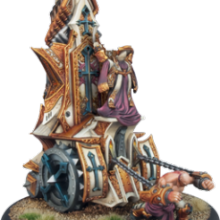 Menoth Vessel of Judgement Battle Engine   RESIN